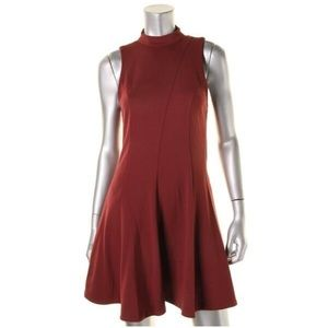 $118 Free People Layla Party Dress Maroon small